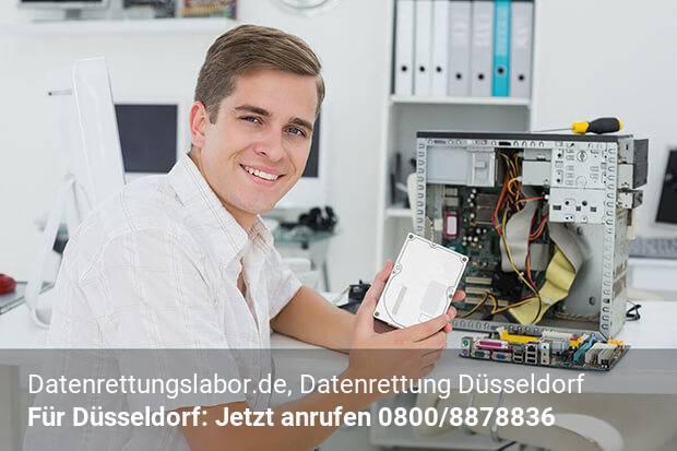 Datenrettung Düsseldorf Datenrettungslabor